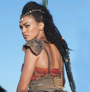 South African actress Pearl Thusi on Scorpian King movie