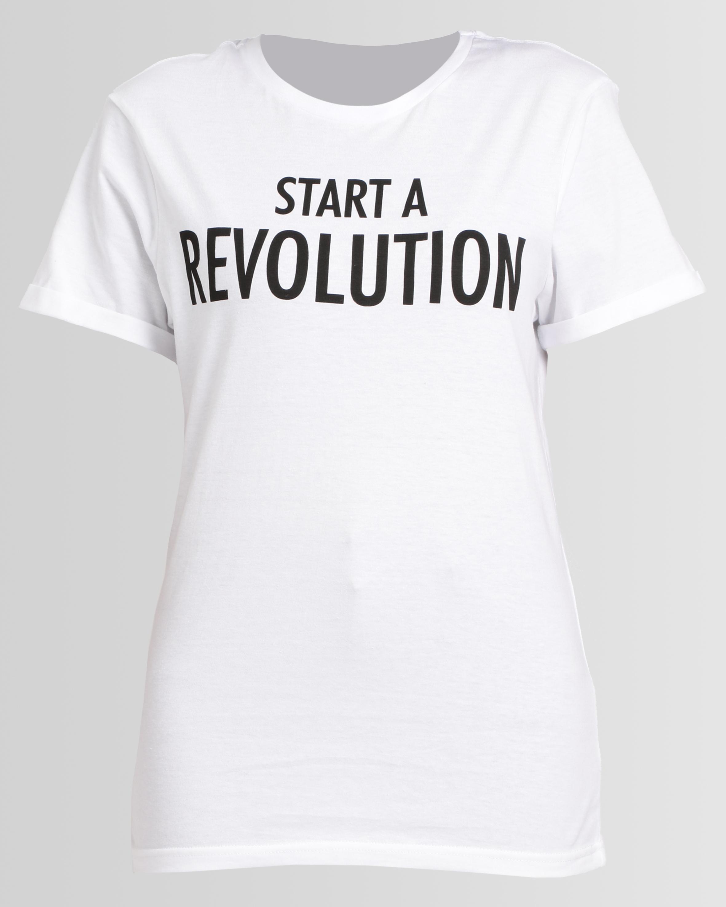 Slogan T-shirt from Zando