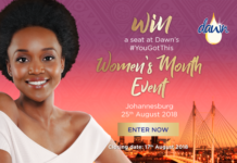 You can win with Dawn and Bona magazine