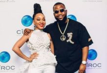 Thando Thabethe and Cassper Nyovest
