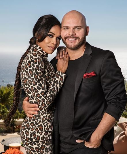 chelle Williams and Chad Johnson