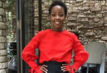 Thuso Mbedu's send-off lunch