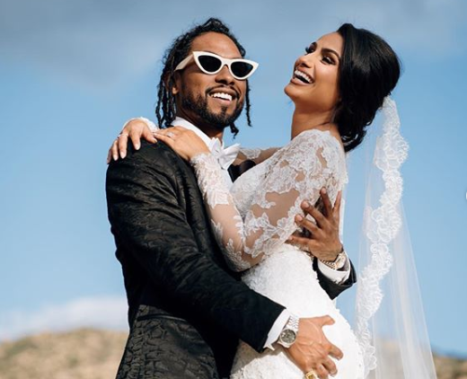Miguel and Nazanin Mandi tie the knot!