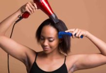 ways to air-dry your hair