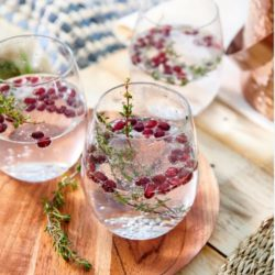 infused gin & tonic