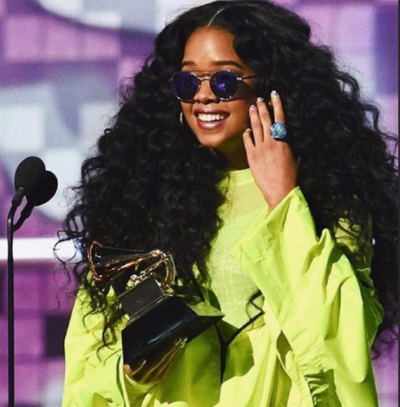 HER e1549871152404 400x407 - Everything that happened at the 61st Annual Grammy Awards