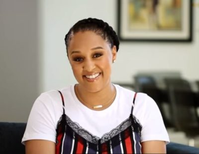 TIA 400x310 - WATCH: Tia Mowry-Hardrict gets candid about her struggle with endometriosis