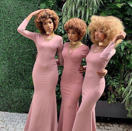 Enhle Mbali Maphumulo launches her hair range
