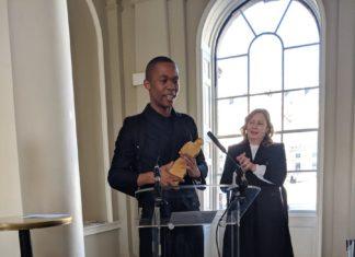 Thebe Magugu wins International Fashion Showcase 2019