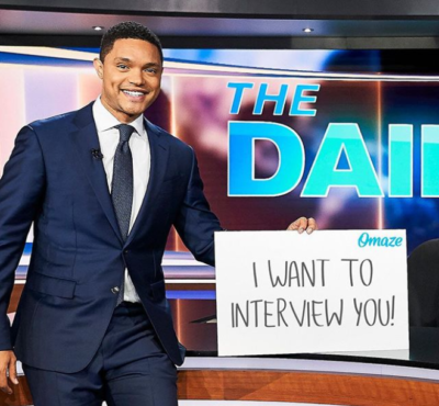 trevor noah 400x370 - The Daily show with Trevor Noah is up for 4 nominations