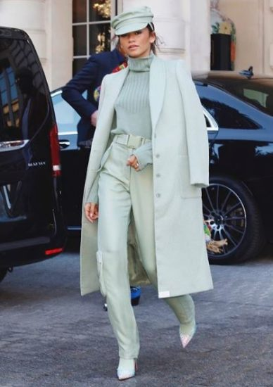 2 1 388x550 - SPOTTED: Celebs at Paris Fashion Week