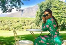 Bonang Matheba teases the launch of her new venture