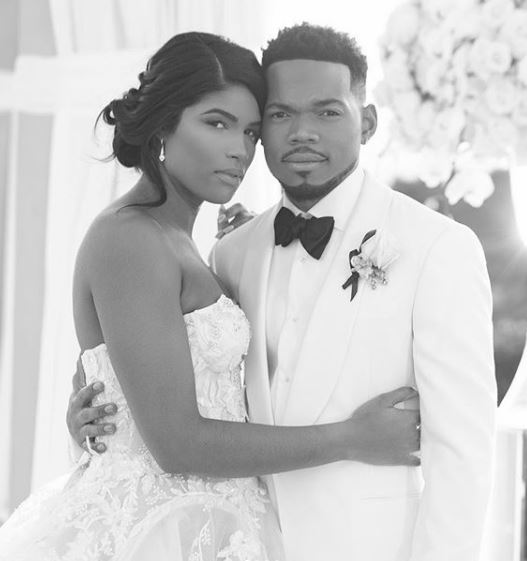 Chance The Rapper and Kirsten Corley are expecting!