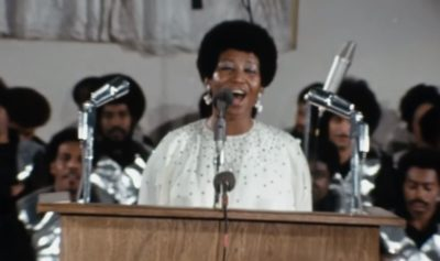 aretha 400x237 - WATCH: Aretha Franklin's Amazing Grace documentary trailer