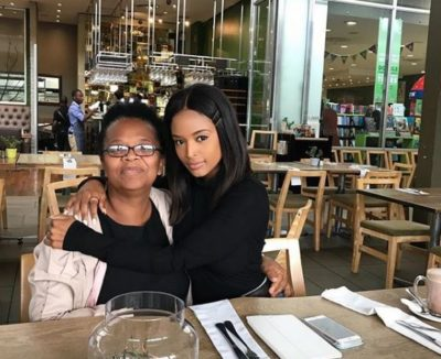 Ayanda Thabethe buys her mom a brand new car
