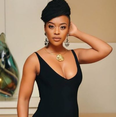 zamoo 400x402 - Nomzamo Mbatha wins an international beauty award