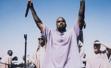 Kanye West debuts his new song at Coachella