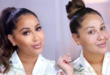 Adrienne Bailon-Houghton shows us her nighttime beauty routine