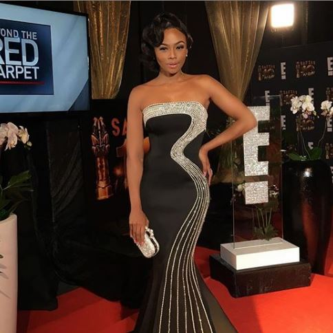 Bonang Matheba and Nomzamo Mbatha bag E! Africa Pop Culture Awards