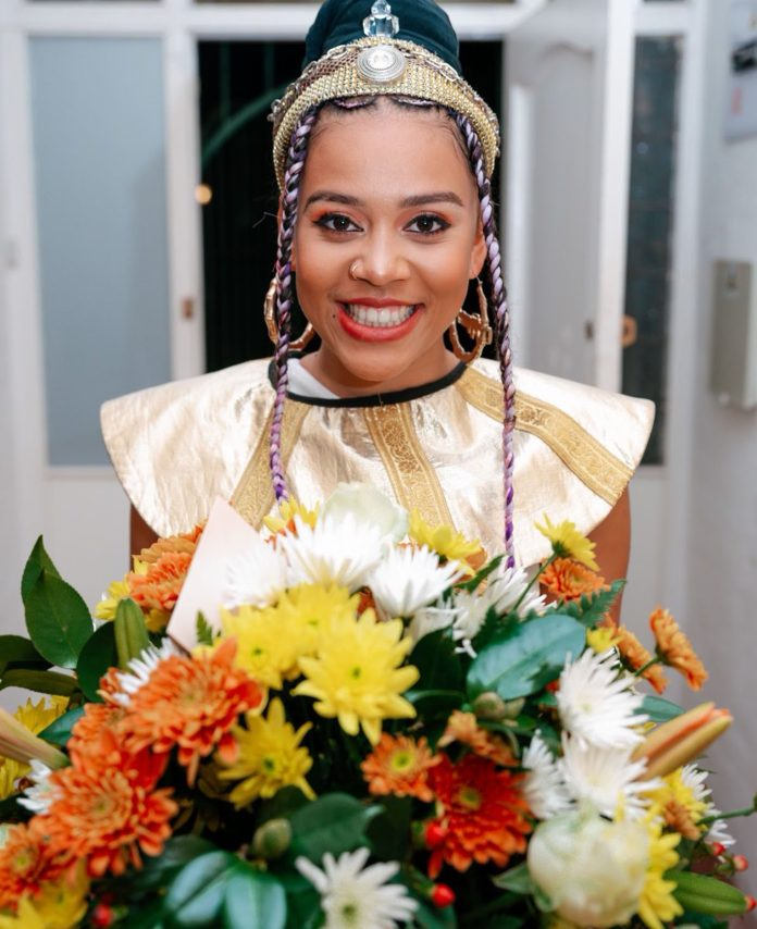 Inside Sho Madjozi's African banquet birthday celebration