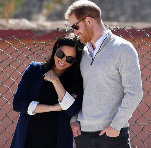 The Duke And Duchess Of Sussex Welcome Their Baby Boy
