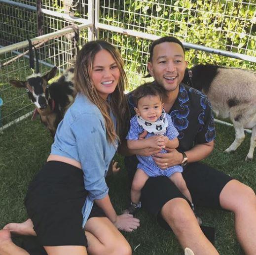 Chrissy Teigen and John Legend celebrate Miles' first birthday