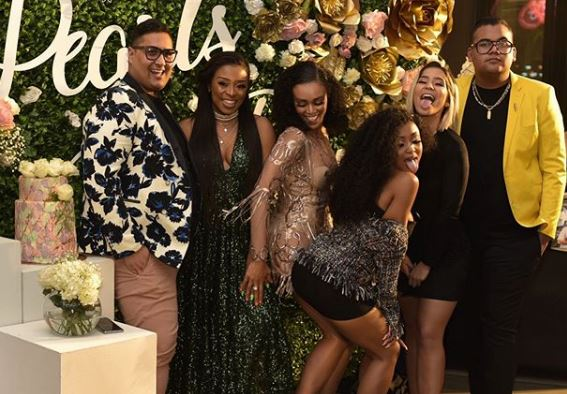 Pearl Thusi celebrates her 31st birthday in style