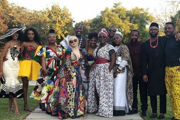 See Pics Dineo Moeketsi And Solo Tie The Knot In A