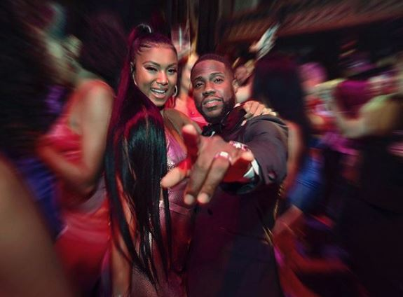 Kevin Hart's star-studded 40th birthday party