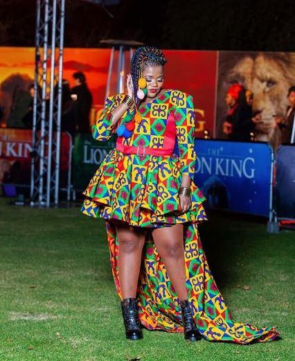 celebs at The Lion King SA premiere