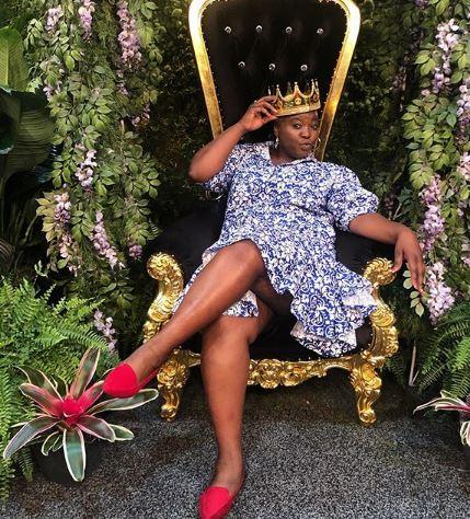 Celeste Ntuli is living it up in the US