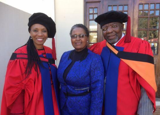 Jerry Mofokeng wa Makhetha receives an Honorary Doctorate