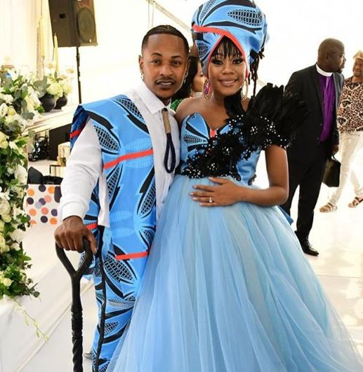 Bontle Modiselle and Priddy Ugly tie the knot