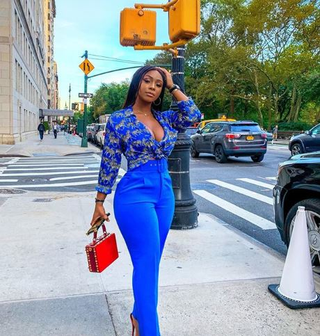 Boity is living it up in New York