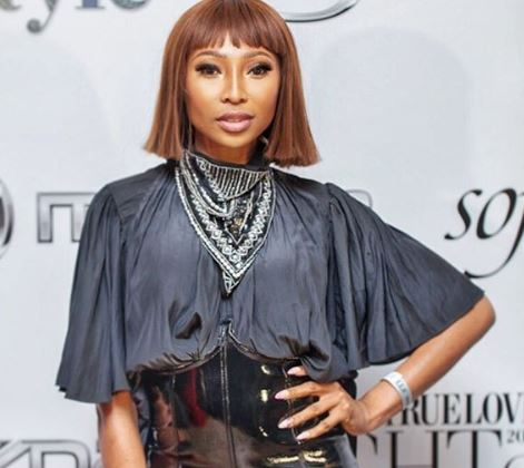 Enhle Mbali's clothing label featured in Italian Vogue