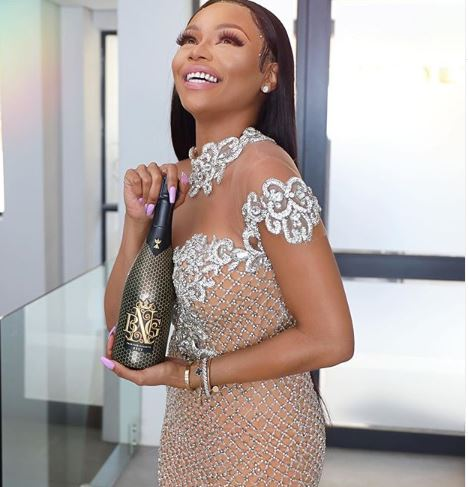 Bonang Matheba launches a new limited edition MCC from The House of BNG