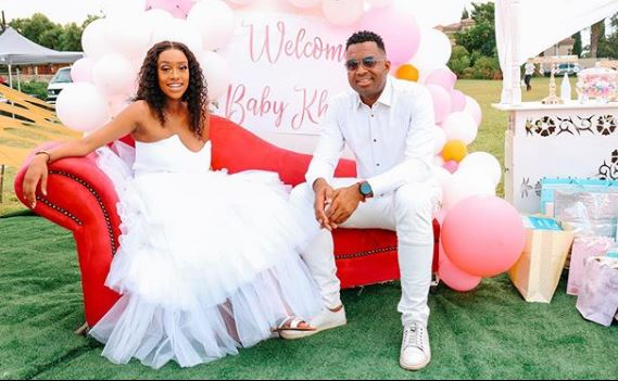 Itumeleng Khune welcomes his first child
