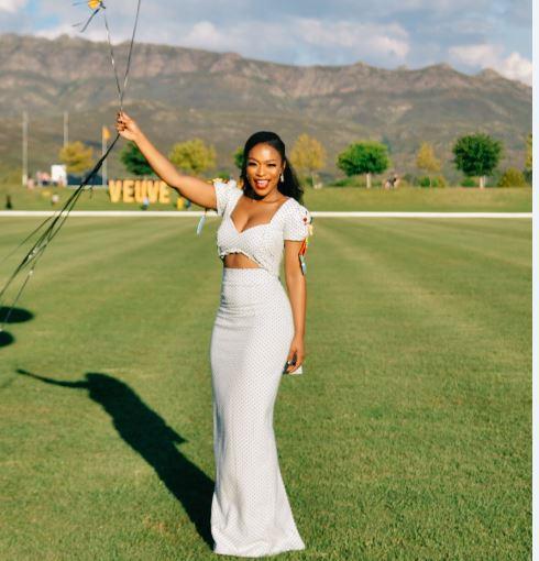 Nomzamo Mbatha to host Veuve Clicquot Polo Series