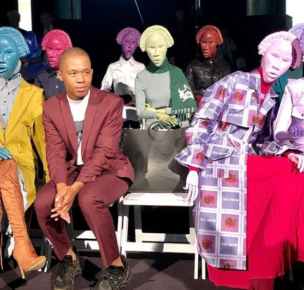 Thebe Magugu makes his Paris Fashion Week debut