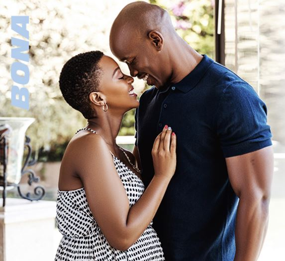 Salamina Mosese's beautiful maternity shoot pictures