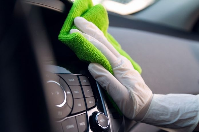 4 tips on how to sanitise your car