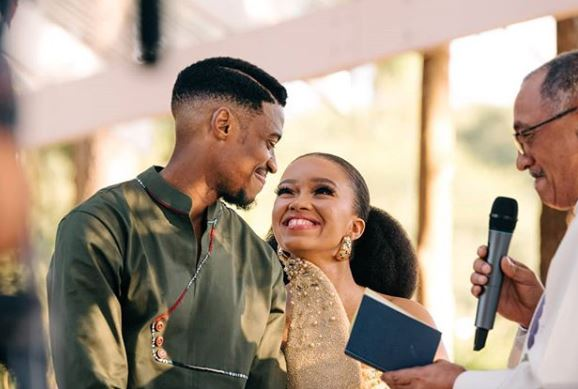 Dineo Langa and Solo reflect on their first year of marriage